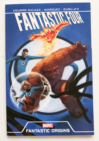 Fantastic Four Fantastic Origins Marvel Graphic Novel Comic Book