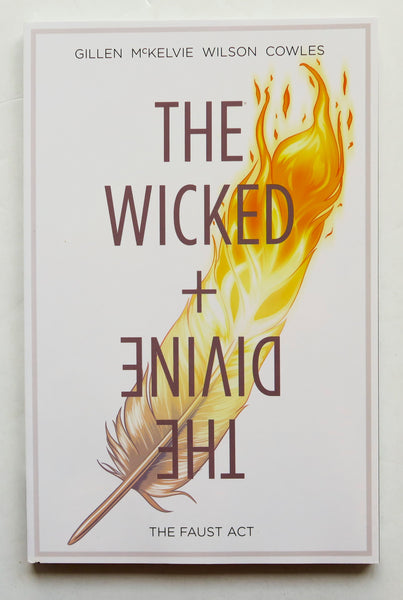 The Wicked + The Divine Vol. 1 The Faust Act Image Graphic Novel Comic Book