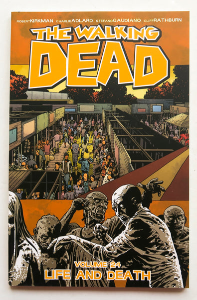 The Walking Dead Vol. 21 All Out War Part Two Image Graphic Novel Comic Book