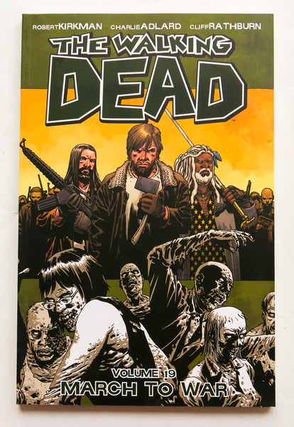 The Walking Dead Vol. 19 March To War Image Graphic Novel Comic Book