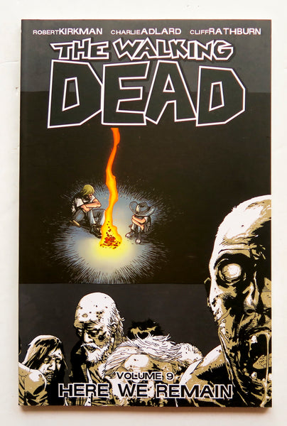 The Walking Dead Vol. 9 Here We Remain Image Graphic Novel Comic Book
