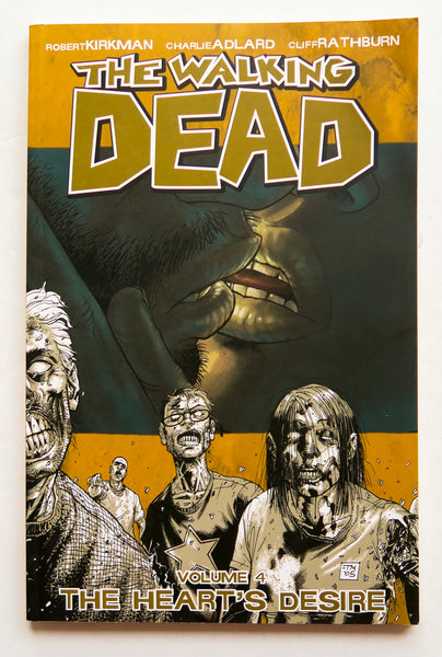 The Walking Dead Vol. 4 The Heart's Desire Image Graphic Novel Comic Book