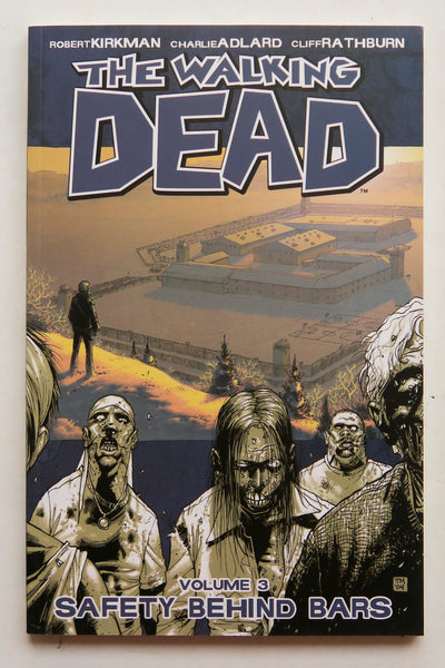 The Walking Dead Vol. 3 Safety Behind Bars Image Graphic Novel Comic Book
