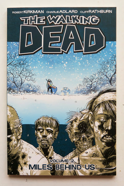 The Walking Dead Vol. 2 Miles Behind Us Image Graphic Novel Comic Book