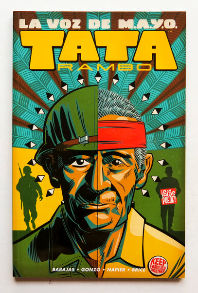 La Voz De M.A.Y.O. Tata Rambo Vol. 1 Image Graphic Novel Comic Book