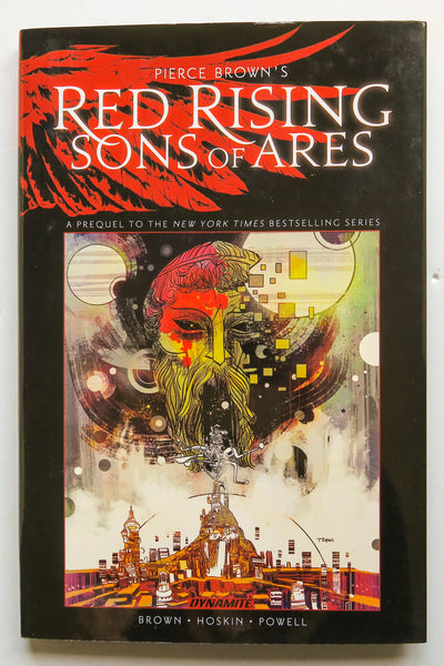 Pierce Brown's Red Rising Sons of Ares Dynamite Graphic Novel Comic Book