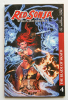 Red Sonja Worlds Away The Blade of Skath Vol. 4 Dynamite Graphic Novel Comic Book