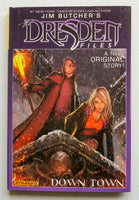Jim Butcher The Dresden Files Down Town Dynamite Graphic Novel Comic Book
