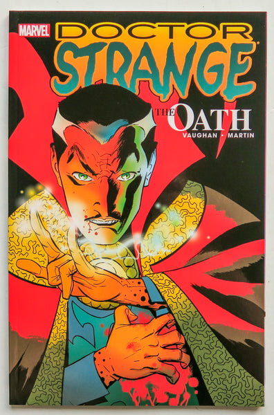 Doctor Strange The Oath Marvel Graphic Novel Comic Book