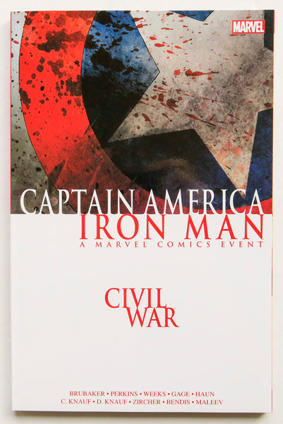 Civil War Captain America / Iron Man A Marvel Comics Event Graphic Novel Comic Book