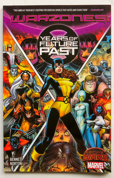 X-Men Years of Future Past Warzones Secret Wars Marvel Graphic Novel Comic Book