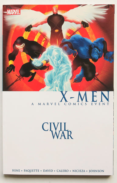 Civil War X-Men A Marvel Comics Event Graphic Novel Comic Book