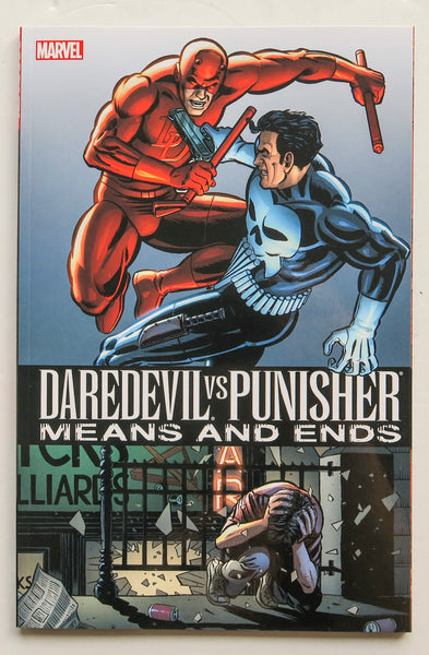 Daredevil Vs Punisher Means and Ends Marvel Graphic Novel Comic Book