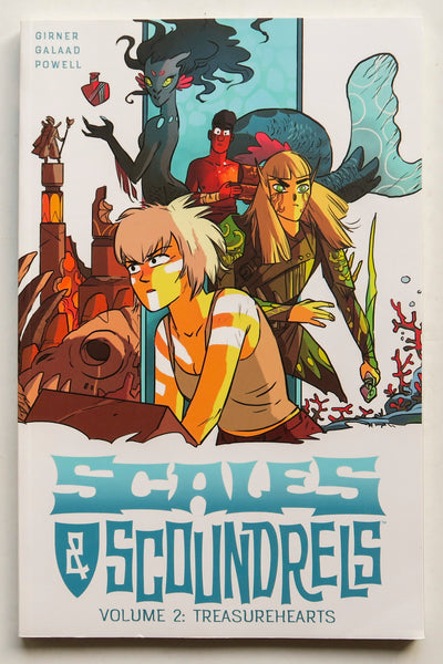 Scales & Scoundrels Treasurehearts Vol. 2 Image Graphic Novel Comic Book