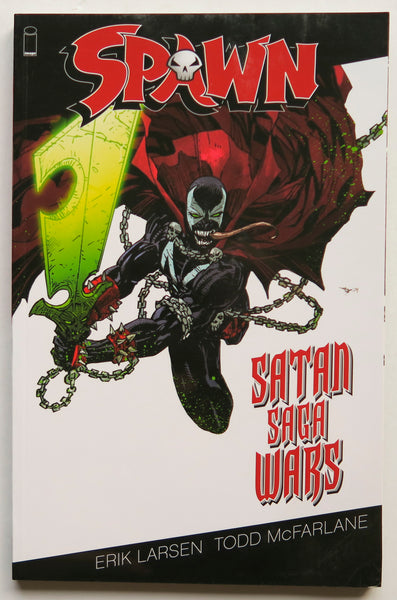 Spawn Satan Saga Wars Image Graphic Novel Comic Book