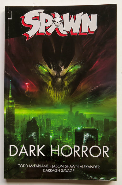 Spawn Dark Horror Image Graphic Novel Comic Book
