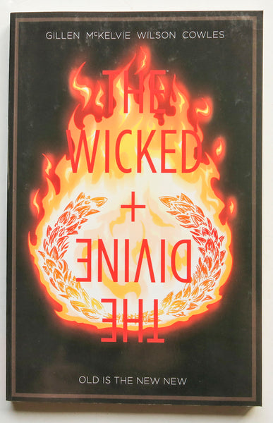 The Wicked + The Devine Vol. 8 Old Is The New New Image Graphic Novel Comic Book