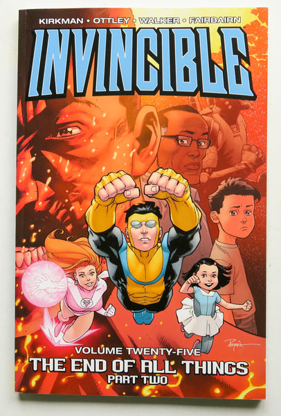 Invincible The End of All Things Part 2 Vol. 25 Image Graphic Novel Comic Book