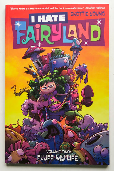 I Hate Fairyland Vol. 2 Fluff My Life Skottie Young Image Graphic Novel Comic Book