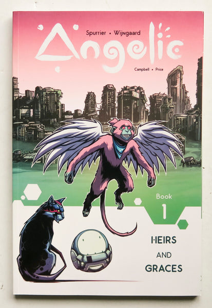 Angelic Vol. 1 Heirs and Graces Image Graphic Novel Comic Book
