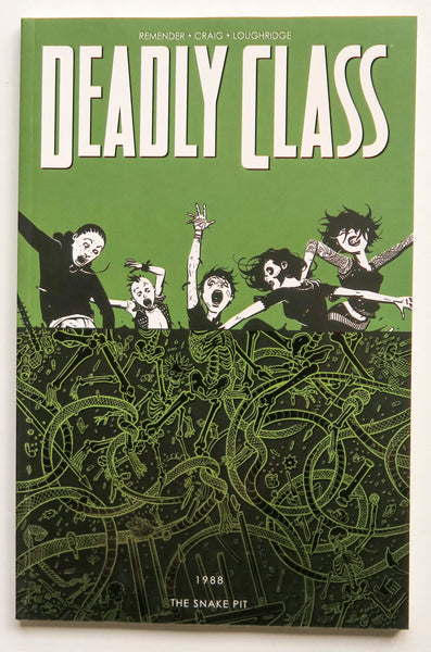 Deadly Class Vol. 3 The Snake Pit 1988 Image Graphic Novel Comic Book