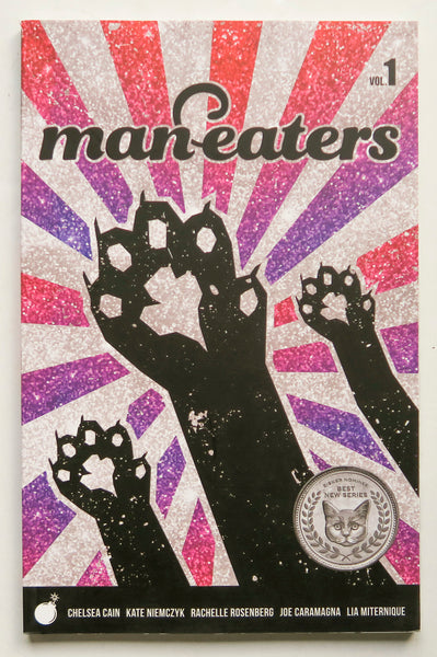 Man-Eaters Vol. 1 2nd Printing Image Graphic Novel Comic Book