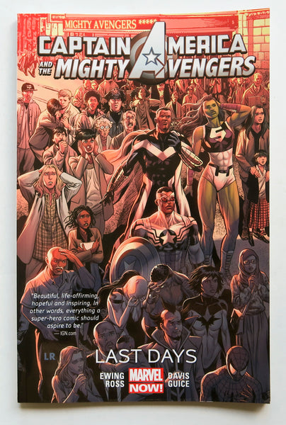 Captain America & The Mighty Avengers Last Days Vol. 2 Marvel Now Graphic Novel Comic Book
