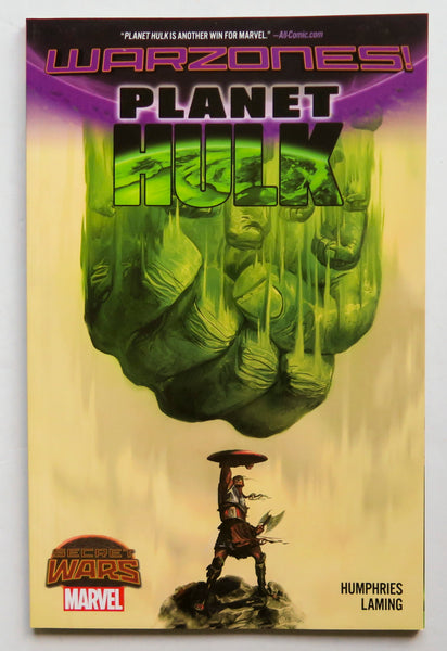 Planet Hulk Warzones Secret Wars Marvel Graphic Novel Comic Book