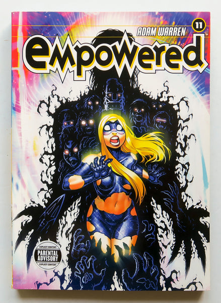 Empowered Vol. 11 Adam Warren Dark Horse Graphic Novel Comic Book