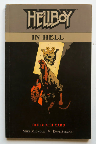 Hellboy In Hell The Death Card Vol. 2 Mignolia Stewart Dark Horse Graphic Novel Comic Book