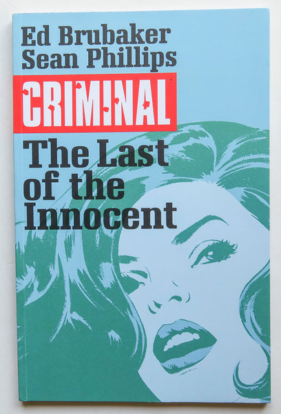 Criminal The Last of the Innocent Vol. 1 Image Graphic Novel Comic Book