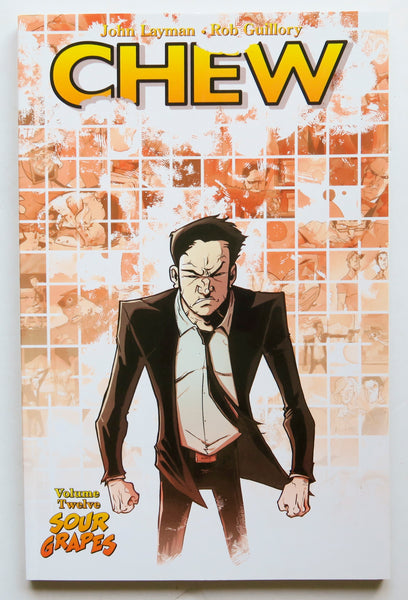 Chew Vol. 12 Sour Grapes Image Graphic Novel Comic Book