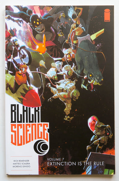 Black Science Vol. 7 Extinction Is The Rule Image Graphic Novel Comic Book