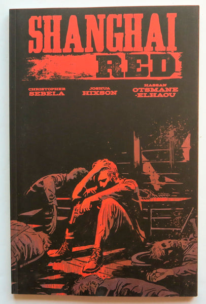 Shanghai Red Image Graphic Novel Comic Book
