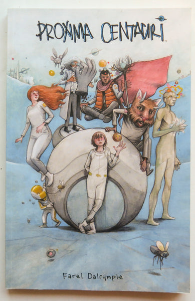 Proxima Centauri Farel Dalrymple Image Graphic Novel Comic Book