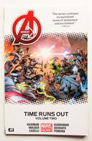 Avengers Vol. 2 Time Runs Out Marvel Now Graphic Novel Comic Book