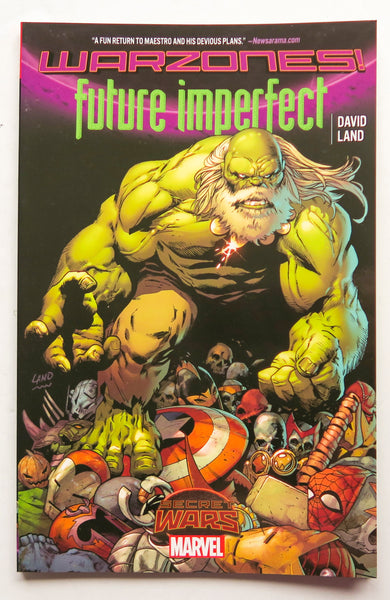 Future Imperfect Warzones Secret Wars Marvel Graphic Novel Comic Book