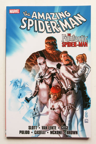Spider-Man The Fantastic Spider-Man Marvel Graphic Novel Comic Book