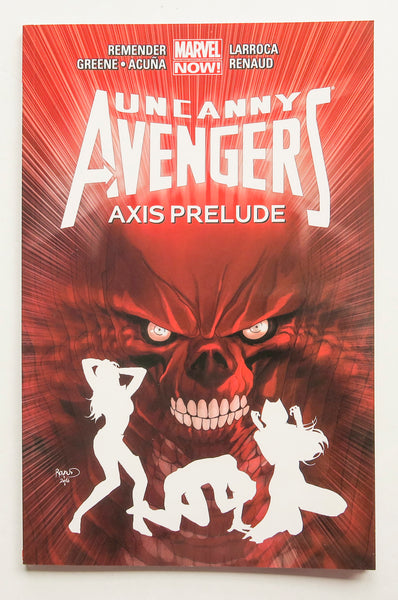 Uncanny Avengers Vol. 5 Axis Prelude Marvel Now Graphic Novel Comic Book