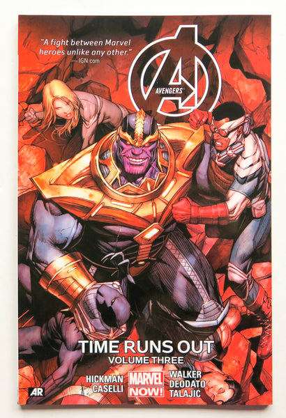 Avengers Vol. 3 Time Runs Out Marvel Now Graphic Novel Comic Book