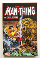 The Man-Thing The Complete Collection Vol. 1 Marvel Graphic Novel Comic Book