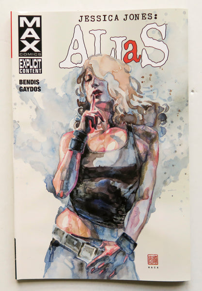 Jessica Jones Alias Vol. 3 Max Comics Marvel Graphic Novel Comic Book