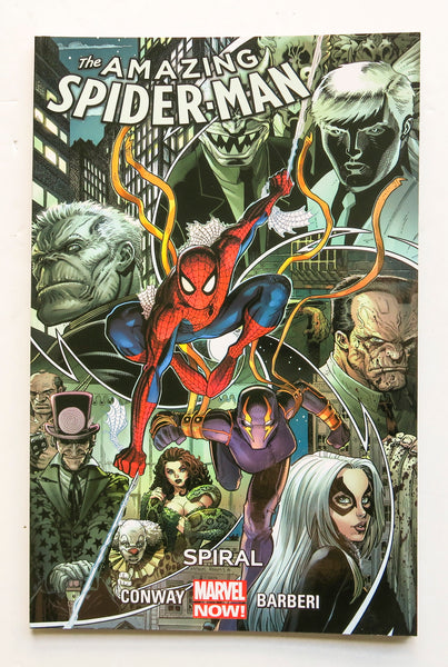 Amazing Spider-Man Vol. 5 Spiral Marvel Now Graphic Novel Comic Book