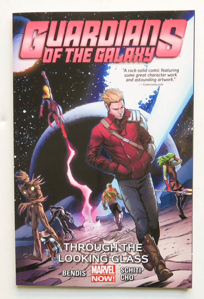 Guardians of the Galaxy Vol. 5 Through the Looking Glass Marvel Now Graphic Novel Comic Book