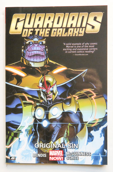 Guardians of the Galaxy Vol. 4 Original Sin Marvel Now Graphic Novel Comic Book