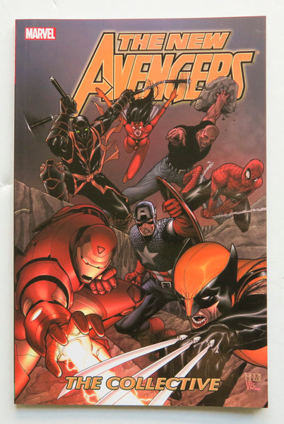 The New Avengers Vol. 4 The Collective Marvel Graphic Novel Comic Book