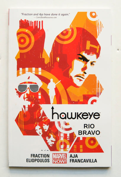 Hawkeye Vol. 4 Rio Bravo Marvel Now Graphic Novel Comic Book