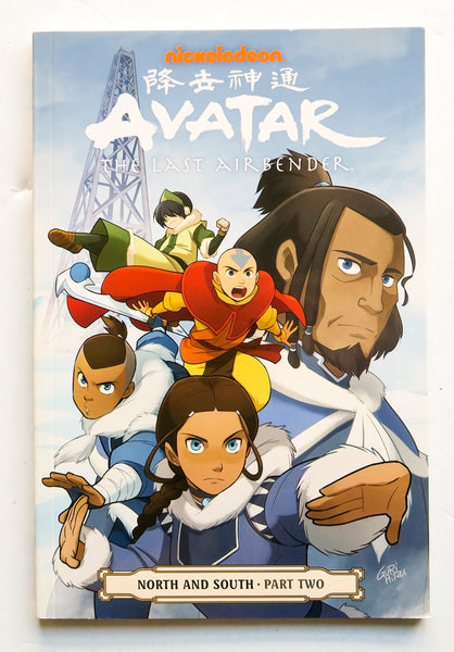 Avatar The Last Airbender North and South Part Two Dark Horse Graphic Novel Comic Book