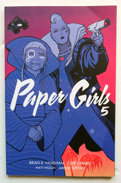Paper Girls Vol. 5 Image Graphic Novel Comic Book