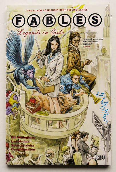 Fables Legends In Exile Vol. 1 Vertigo Graphic Novel Comic Book